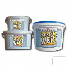 Vopsea alba pentru interior Mister Weiss - 3 L