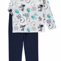 Haine copii - Pijama copii 5-12 ani - Name it - art. 13120321 alb