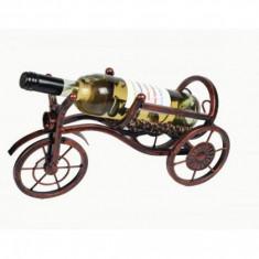 Suport tricicleta pentru sticla vin