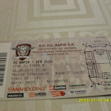 Bilet       Rapid  -  CFR  Cluj