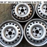 JANTE TABLA 15 5X112 5BUC VW T5 SHARAN SI ALTELE