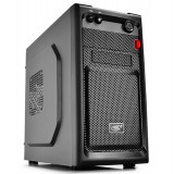 CARCASA DEEPCOOL mATX Mini-Tower, front audio & 1x USB 3.0, 1x USB 2.0, black (SMARTER)