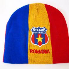 Fes Barbati - STEAUA - ROMANIA caciula- fes steag tricolor (stema sapca basc) RO29