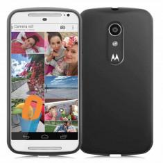 Husa Motorola Moto G silicon slim Fitty neagra - Husa Telefon