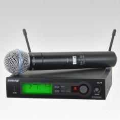 Microfon profesional SHURE SLX SM58 - Fara fir (Wireless)