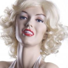 Peruca Dama - PER49 Peruca blonda cu bucle - Marilyn Monroe