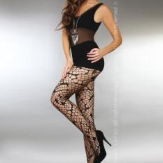 Livia Corsetti 218-1 Ciorapi sexy cu model din plasa - Sosete dama LIVIA CORSETTI, Marime: Marime universala
