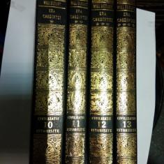 Istorie - ERA CREDINTEI - WILL DURANT -(din seria CIVILIZATII ISTORISITE)- 4 vol.
