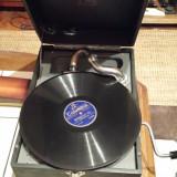 Patefon vechi si discuri de patefon/gramofon