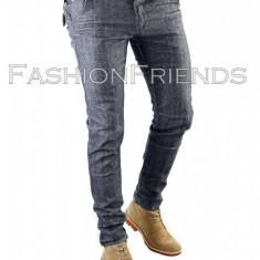 Pantaloni tip ZARA MAN gri - pantaloni slim - pantaloni barbati - 5620, Marime: 31, Culoare: Din imagine