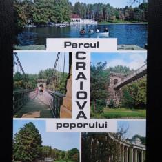 SEPT15-Vedere/Carte postala-Craiova-Parcul Poporului-necirculata - Carte Postala Banat dupa 1918, Printata