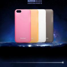 Husa iPhone 5C Cauciucata + Folie protectie by Yoobao Originala Alba - Husa Telefon Yoobao, Plastic, Fara snur, Carcasa
