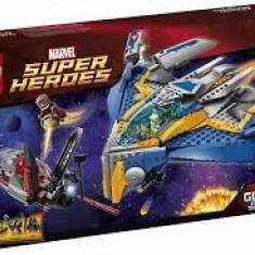 Vand LegoSuperHeroes76021The Milano Spaceship Rescue, sigilat, 665piese, 8-14 ani