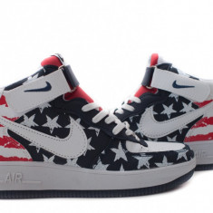 Ghete dama - Ghete Nike Air Force 1 america low
