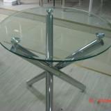 Masa bucatarie - Mese sticla rotunde Y6