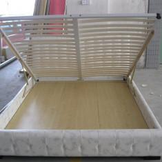 Pat dormitor - Paturi cu piele ieftine AH03-1