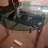 Mese extensibile sticla rotunde TL2 - Masa bucatarie