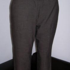 Pantaloni dama office Calvin Klein marime M USA, Marime: M, Culoare: Maro, Trei-sferturi