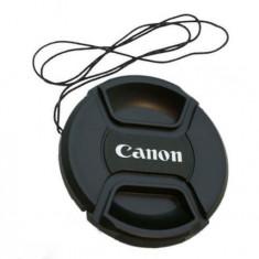 Capac obiectiv 67mm pentru obiective Canon - Capac Obiectiv Foto