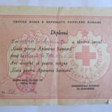Diploma/Certificat - DIPLOMA CRUCEA ROSIE A R.P.R.
