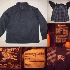 Geaca BURBERRYS LONDON barbati (M) casual jacheta burberry MADE IN ENGLAND - Geaca barbati, Marime: M, Culoare: Din imagine