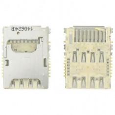 Suport cu cititor SIM si card LG G3 Original - Conector GSM