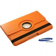 Husa Samsung Galaxy Note 10.1 N8000 Portocalie Oem