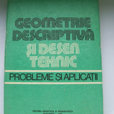 GEOMETRIE DESCRIPTIVA SI DESEN TEHNIC T.IVANESCU