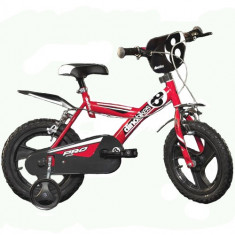 Bicicleta 163 GLN, 16 inch rosu - Bicicleta copii Dino Bikes