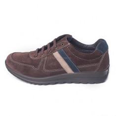 Pantofi pentru barbati din piele, marca Grisport (GR42404P1) - Pantofi barbati Grisport, Marime: 41, 43, 44, 45, Culoare: Maro