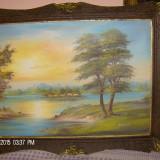 Tablou peisaj semnat SZATMARY - Tablou pictori straini, Peisaje, Ulei, Impresionism