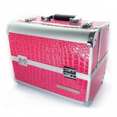 Trusa manichiura - Geanta Manichiurista - Make UP - Manichiura - Cosmetica - geanta cosmetice roz