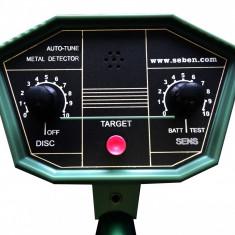 Detector metale feroase si neferoase profesional pana la 2m adancime