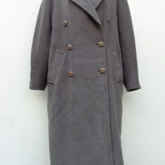 Palton doua randuri de nasturi MARELLA by Max Mara - Palton dama Max Mara, Marime: M/L, Culoare: Greige, Lana