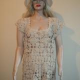 BLUZA / ROCHIE CROSETATA, DE DAMA, MODEL UNICAT - Bluza dama, Marime: Marime universala, Culoare: Din imagine