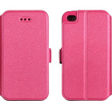 Husa HUAWEI Honor 4X Flip Case Inchidere Magnetica Pink