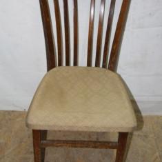 Mobilier - Scaun din lemn masiv, cu spatar
