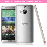 HTC M9 Plus - Husa Ultra Slim 0.3mm din Silicon Transparent