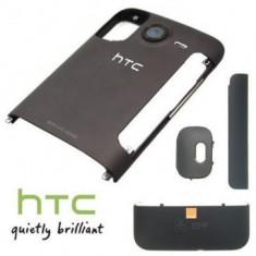 Accesoriu - Carcasa HTC Desire HD 4 piese Orange Originala Gri SWAP