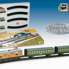 Trenulet Electric Calatori (Clasic) - Trenulet de jucarie Pequetren