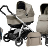 Carucior 3 In1 Book Plus Black&Silver Pop-Up - Carucior copii 3 in 1 Peg Perego