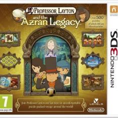 Professor Layton And The Azran Legacy Nintendo 3Ds - Jocuri Nintendo 3DS