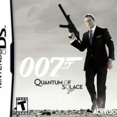 James Bond Quantum Of Solace Nintendo Ds - Jocuri Nintendo DS Activision