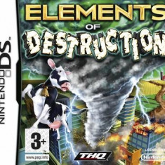 Elements Of Destruction Nintendo Ds - Jocuri Nintendo DS Thq
