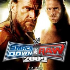 Wwe Smackdown Vs. Raw 2009 Nintendo Wii - Jocuri WII Thq