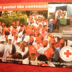 Ilustrata -Calendar - Cruce Rosie - Concurs Sanitarii Priceputi 2007 - Calendar colectie