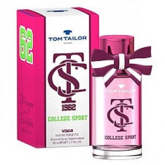 Tom Tailor College Sport Woman EDT 30 ml pentru femei - Parfum femeie Tom Tailor, Apa de toaleta