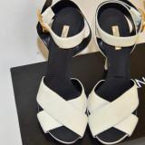 Sandale dama D&G, Piele naturala - Sandale Dolce & Gabbana, NOI, (originale) Marimea 38, din piele (D&G)