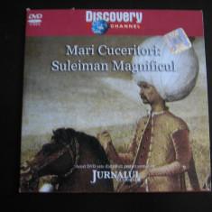 Mari cuceritori: Suleiman Magnificul - DVD - Film documentare Altele, Romana