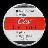 Gel unghii - Gel uv CCN transparent 15 ml, 3 in 1, pentru unghii false, autonivelant